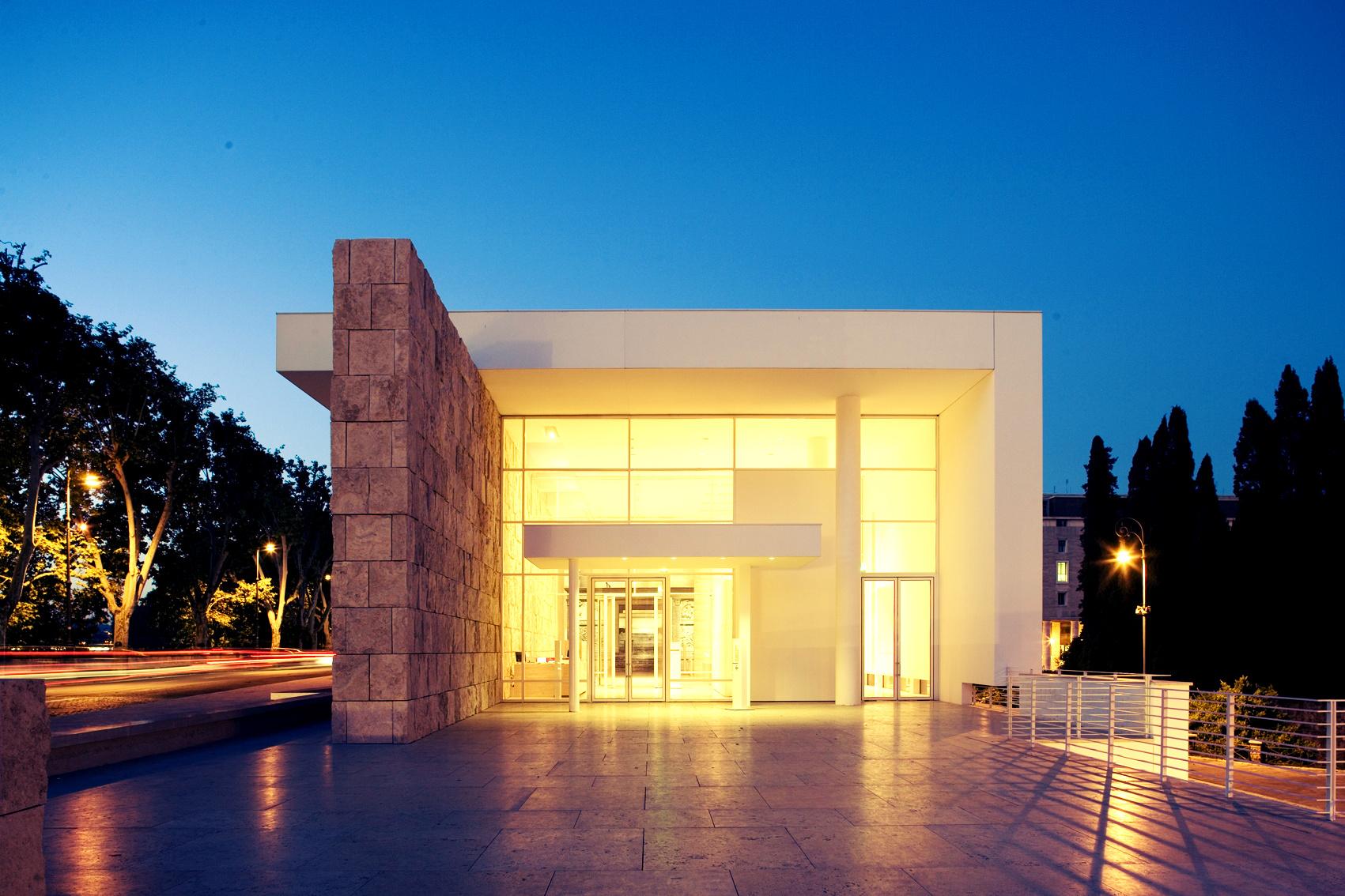 La sfida del contemporaneo roma e atene a confronto 25 for Architettura moderna e contemporanea