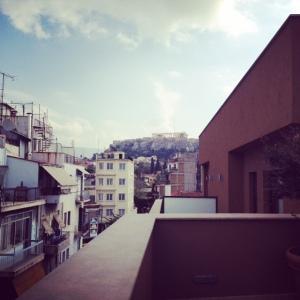 Terrace Acropoli view