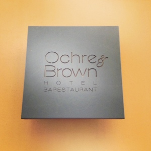 Ochre and Brown